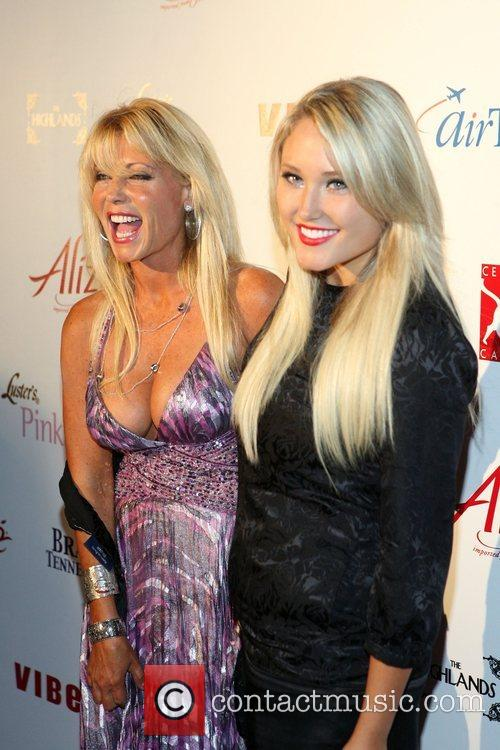 Pamela Bach and Hayley Hasselhoff