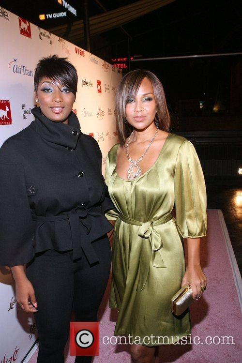 Toccara and Lisa Raye Celebrity Catwalk for Charity...