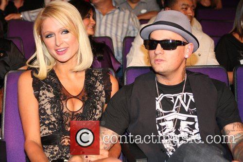 Paris Hilton and Benji Madden  Kendell Holt...
