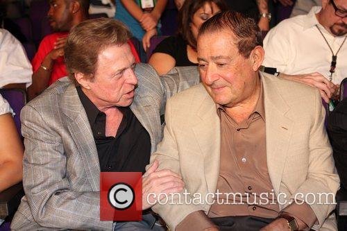Steve Lawrence and promoter Bob Arum Kendell Holt...