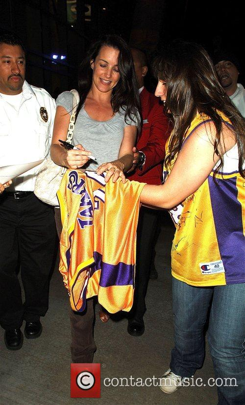 Kristen Davis and Staples Center 3