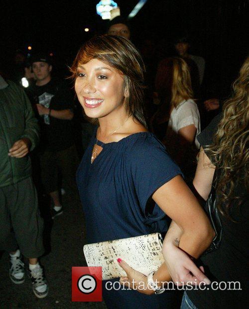 Cheryl Burke outside Coco de Ville Los Angeles,...