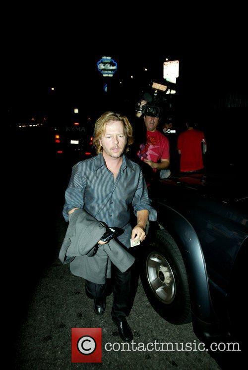 David Spade outside Coco de Ville Los Angeles,...