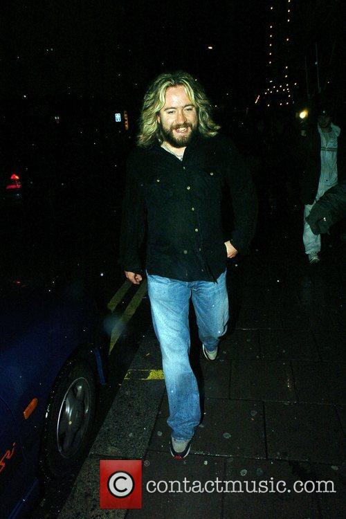 Justin Lee Collins leaves the Groucho private members...