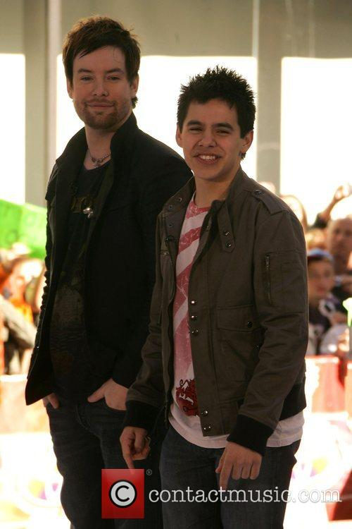 David Cook and David Archuleta 4
