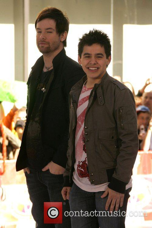 David Cook and David Archuleta 1