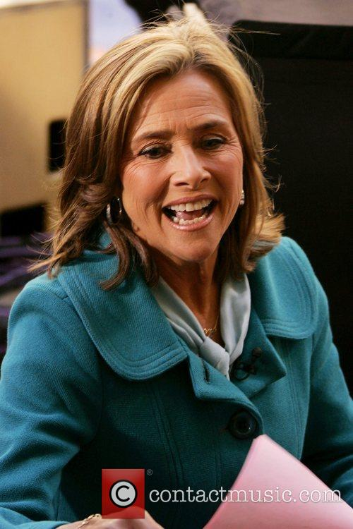 Meredith Vieira at the Rockefeller Plaza for NBC's...