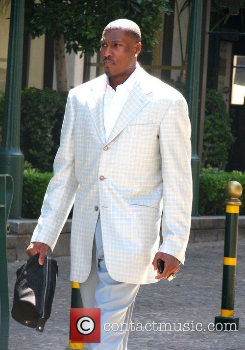 Kevin Garnett The Boston Celtics players leave the...