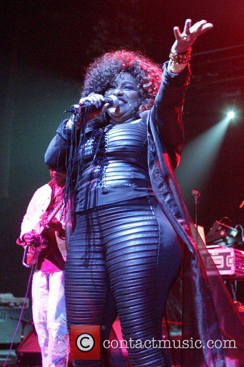 Chaka Khan performing live in concert at the...