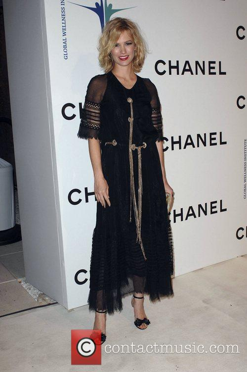 January Jones Chanel Celebrates New Concept Boutique on...