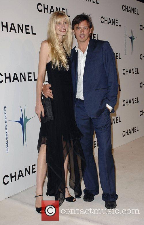 Kirsty Hume and Donovan Leitch Jr Chanel Celebrates...