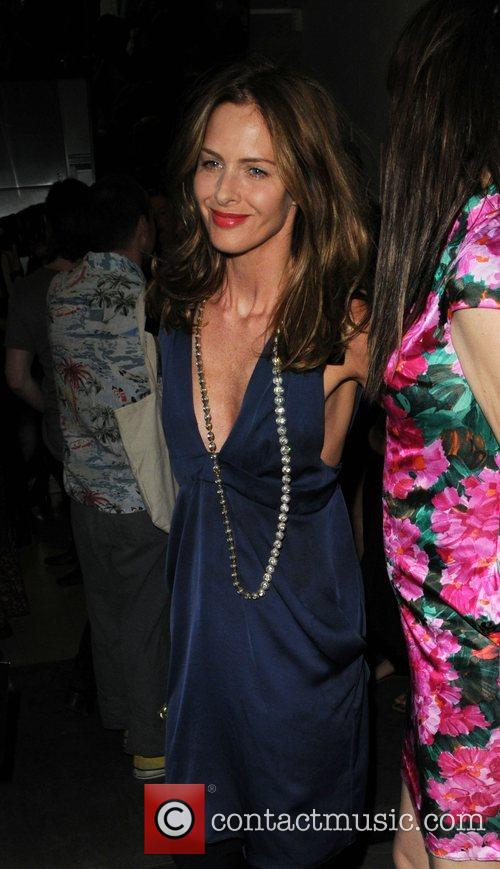 Trinny Woodall Chanel Boutique opening - departures London,...
