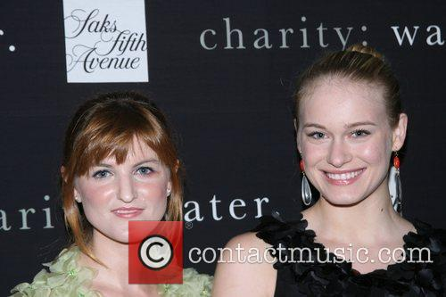 Ashley Verrier and Leven Rambin Saks Fifth Avenue...