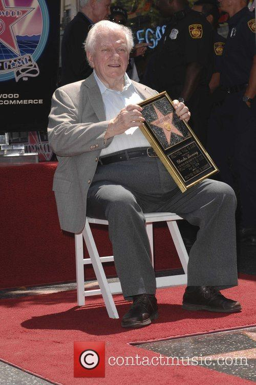 Charles Durning, Star On The Hollywood Walk Of Fame and Walk Of Fame 5