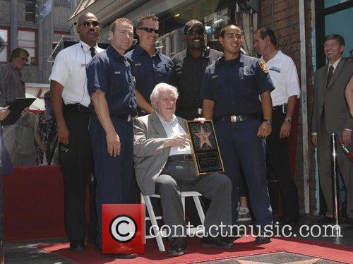 Charles Durning, Fire Fighters, Star On The Hollywood Walk Of Fame and Walk Of Fame 4