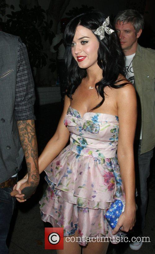 Katy Perry leaving Chateau Marmont after a MTV...