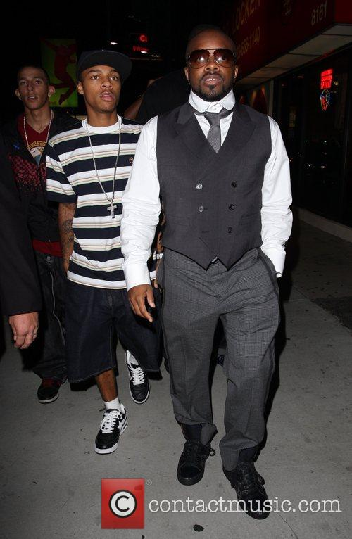 Bow Wow and Jermaine Dupri leaving Chateau Marmont...