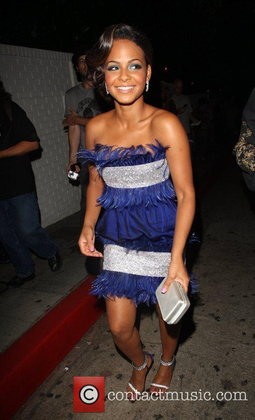 Christina Milian and Mtv 10