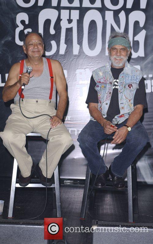 Cheech Marin and Tommy Chong 9