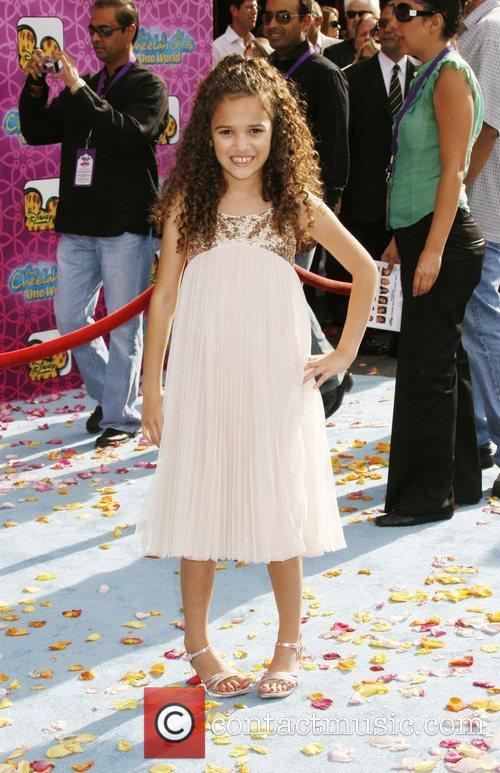 Madison Pettis The Los Angeles Premiere of 'The...