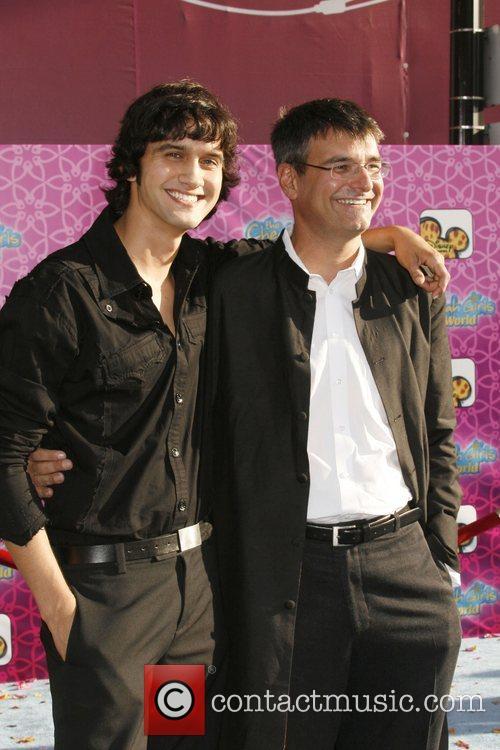Michael Steger and Director Paul Hoen The Los...
