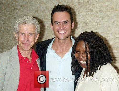 Broadway hunk Cheyenne Jackson is inducted onto the...