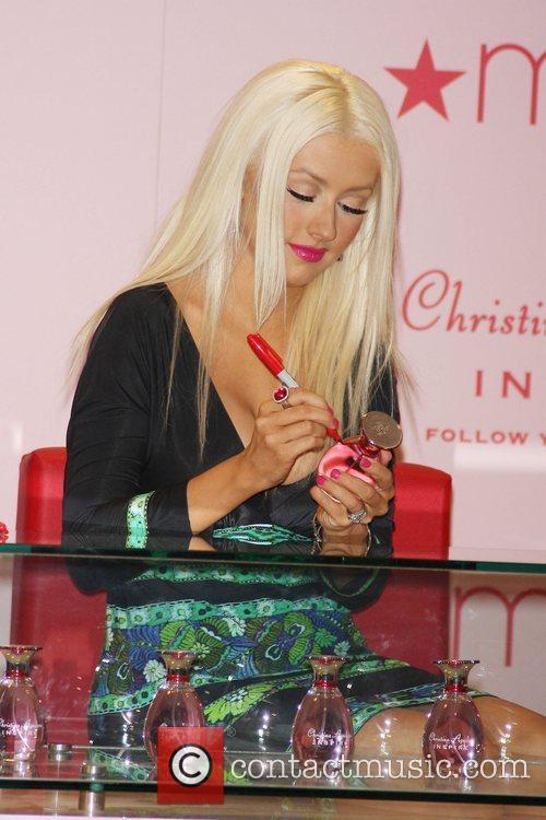 Christina Aguilera launches her new perfume 'Christina Aguilera...
