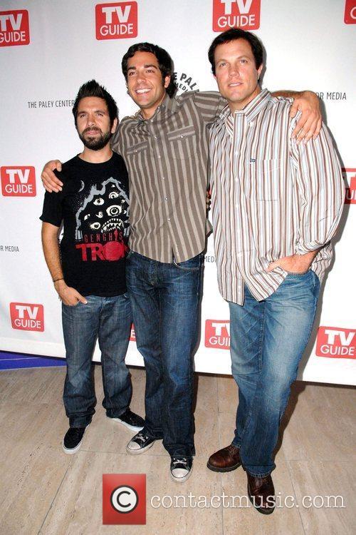 Joshua Gomez, Gomez and Zachary Levi 7