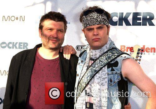 Peter Cattaneo and Rainn Wilson 3
