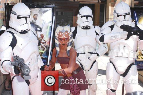 'Star Wars: The Clone Wars' premiere at the...