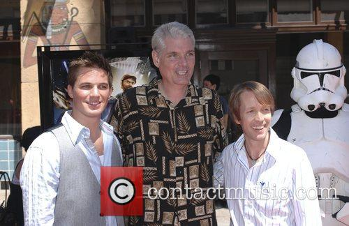 James Arnold Taylor, Tom Kane, Matt Lanter and Egyptian Theater 2