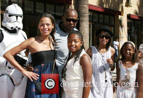 Forest Whitaker, Keisha Whitaker and Egyptian Theater 2