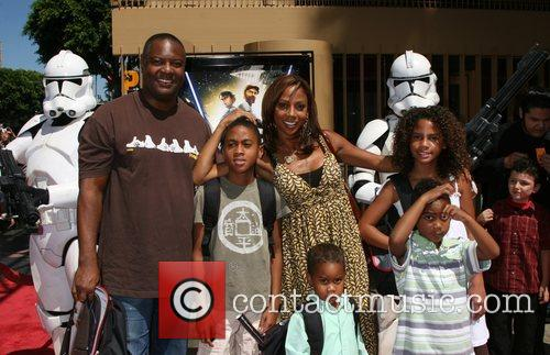 Rodney Peete, Holly Robinson Peete and Egyptian Theater 2