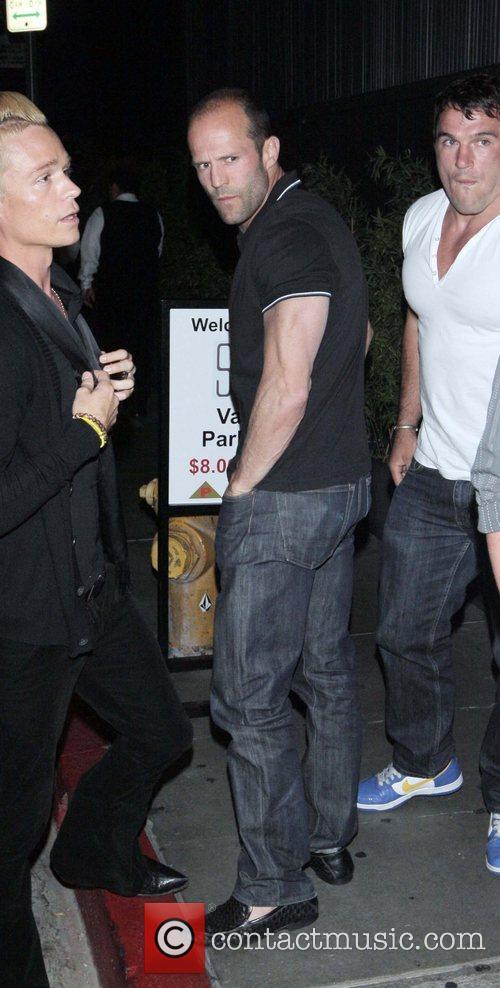 Jason Statham leaving Coco De Ville West Hollywood,...