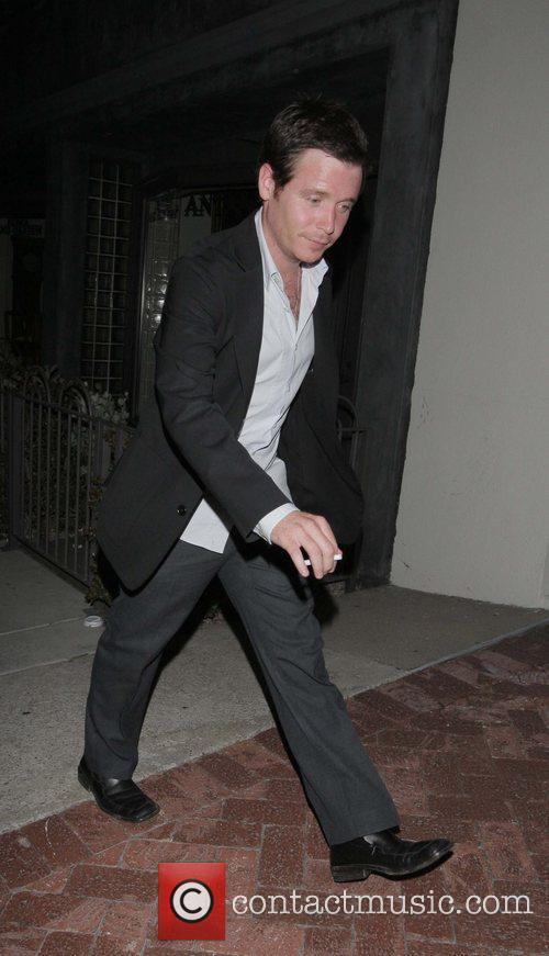 Kevin Connolly leaving Coco De Ville West Hollywood,...