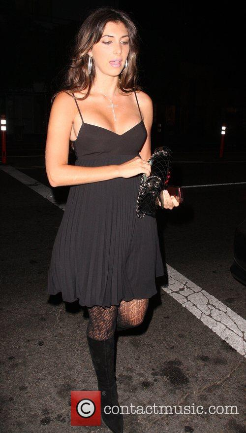 Arriving at Coco De Ville in West Hollywood