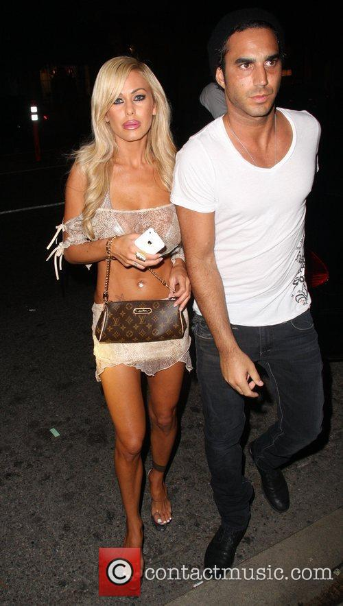 Shauna Sand arriving at Coco De Ville in...
