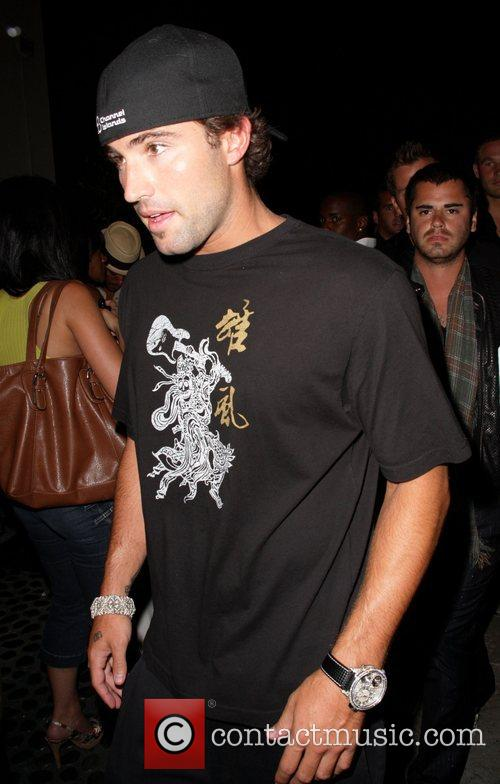Brody Jenner  outside Coco De Ville nightclub...