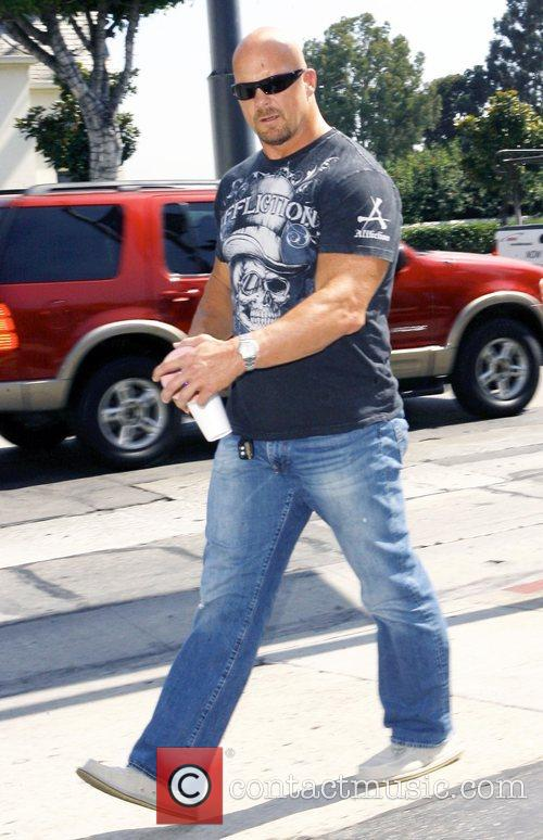 Former professional wrestler out and about in West...