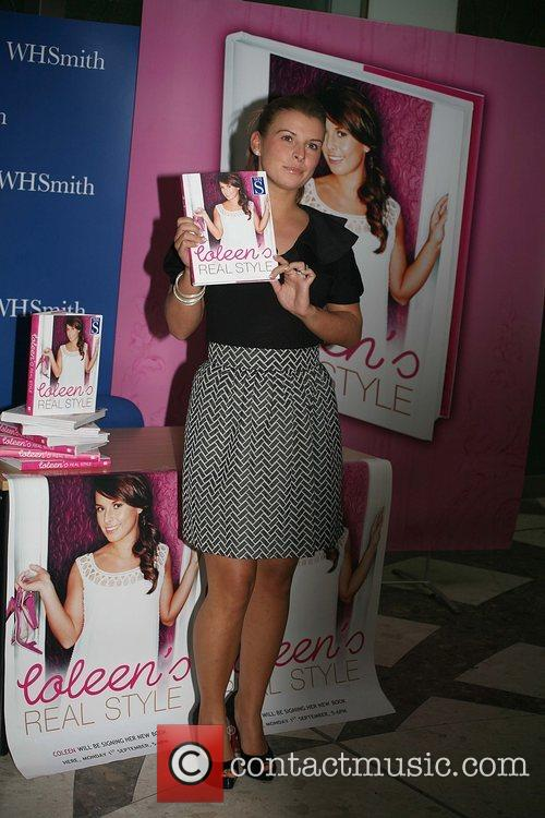 Signs her new book 'Coleen's Real Style' at...