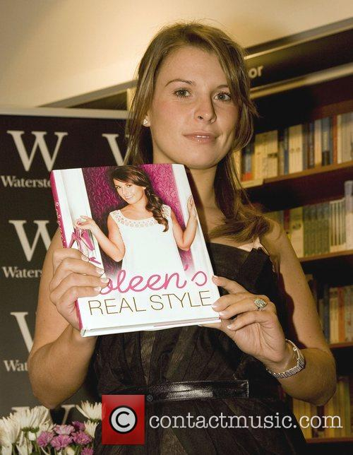 Signs copies of her new book 'Coleen's Real...