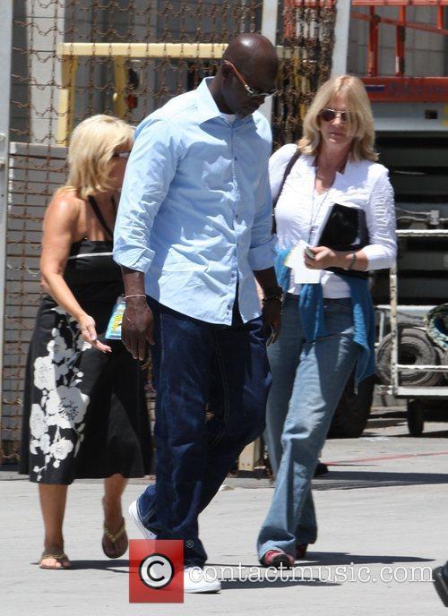 Djimon Hounsou Outside of Comic-Con 2008 - Day...