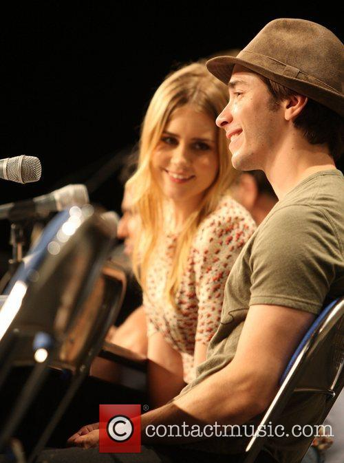 Justin Long and Alison Lohman appear close as...