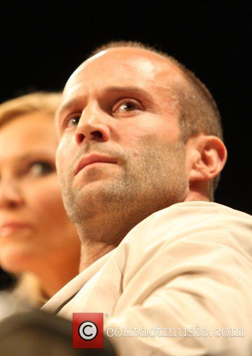 Jason Statham promotes his new movie 'Death Race'