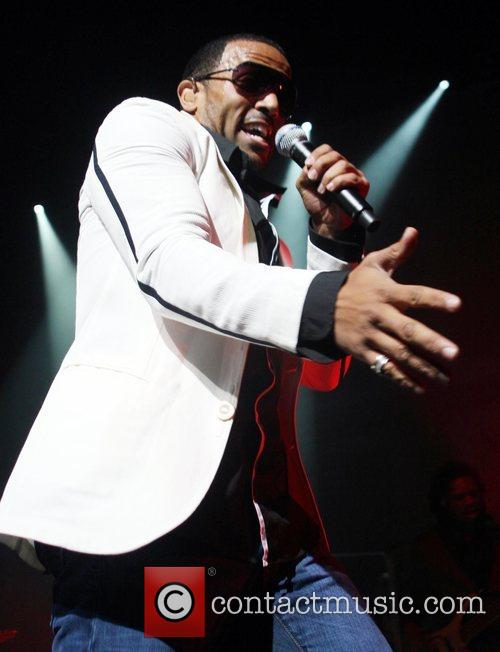 Craig David performing in concert at the Lowry