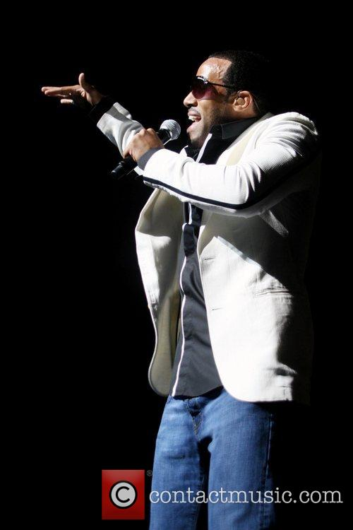 Craig David performing in concert at the Lowry...