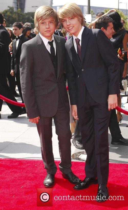 Cole Sprouse and Dylan Sprouse 60th Primetime Creative...
