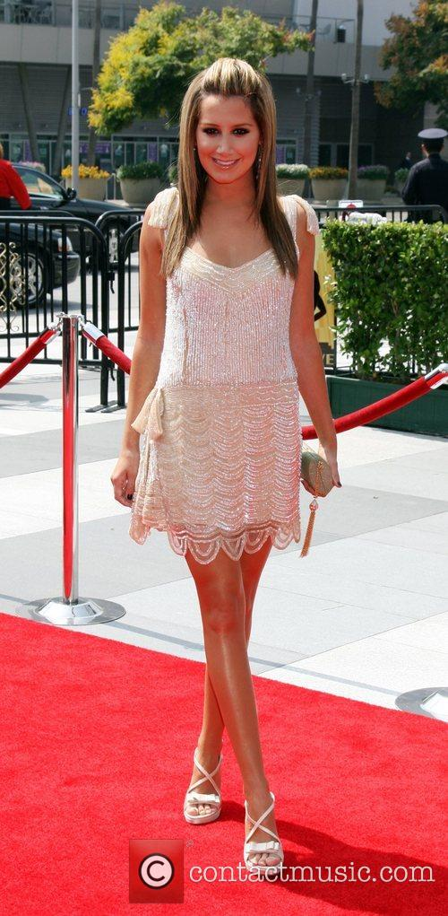 Ashley Tisdale arriving at the Creative Primetime Emmy...