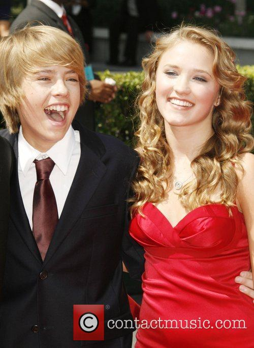 Cole Sprouse and Emily Osment 60th Primetime Creative...