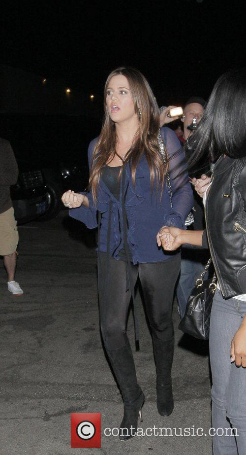 khloe Kardashian leaving Crest Los Angeles, California